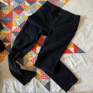 2 for $25 Paige black mid-rise, skinny jeans